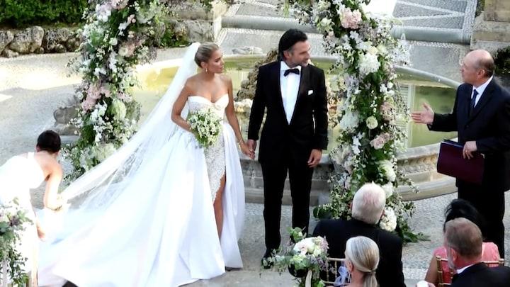 Sylvie Meis stapt in het huwelijksbootje met Niclas Castello