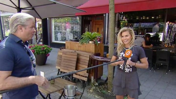 Nicolette van Dam bereidt heropening terrassen voor