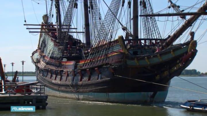 """VOC-schip Batavia """"vaart"""" weer even"""