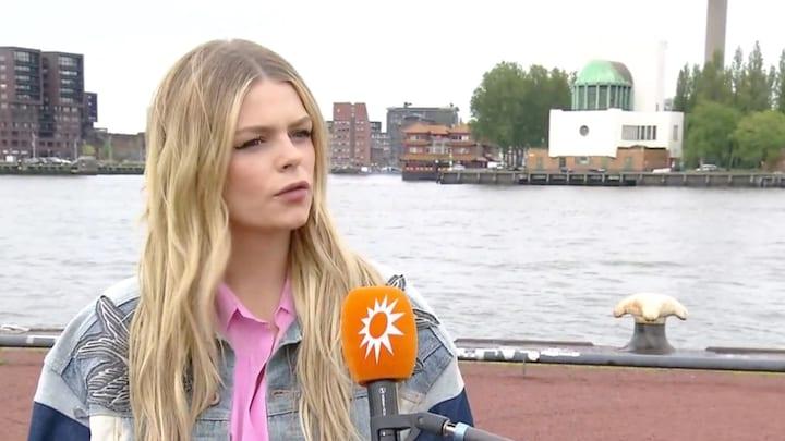 Davina zou het 'superleuk' vinden om aan songfestival mee te doen