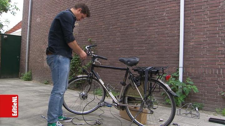 Van fietswrak naar e-bike