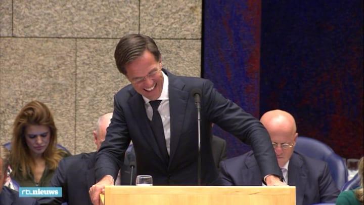 Er werd ook gelachen tijdens het debat over Prinsjesdag