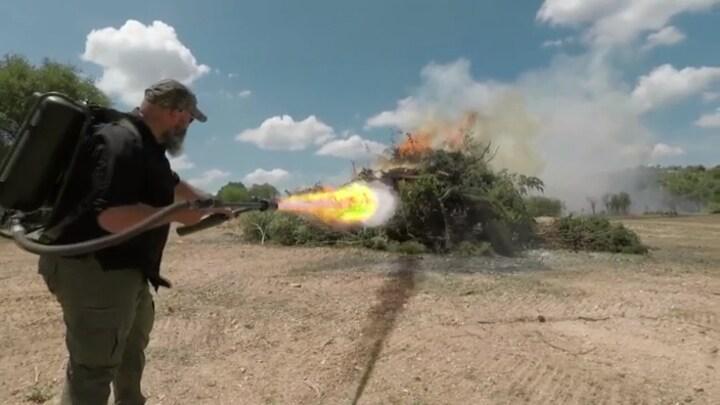 Komt de vlammenwerper van Elon Musk als beste uit de test?