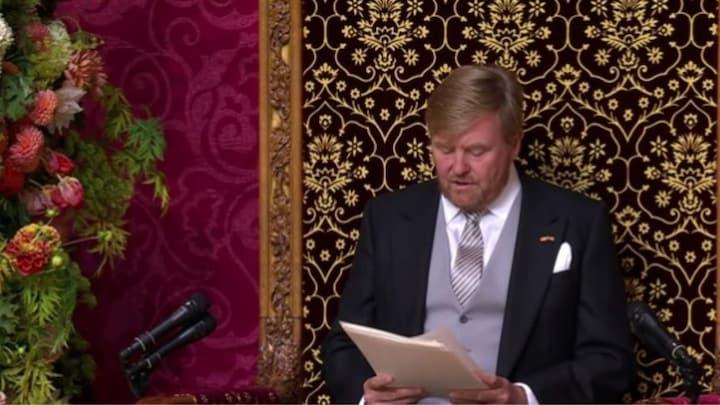 Koning: 'Moord op Peter R. de Vries is nieuw dieptepunt'