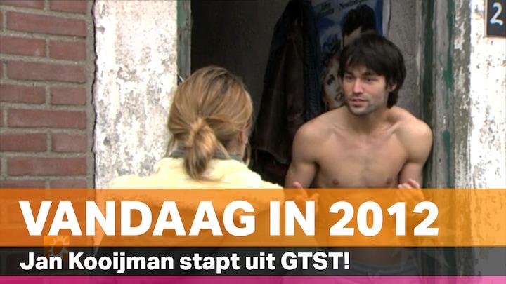 Vandaag in 2012: Jan Kooijman stapt uit GTST