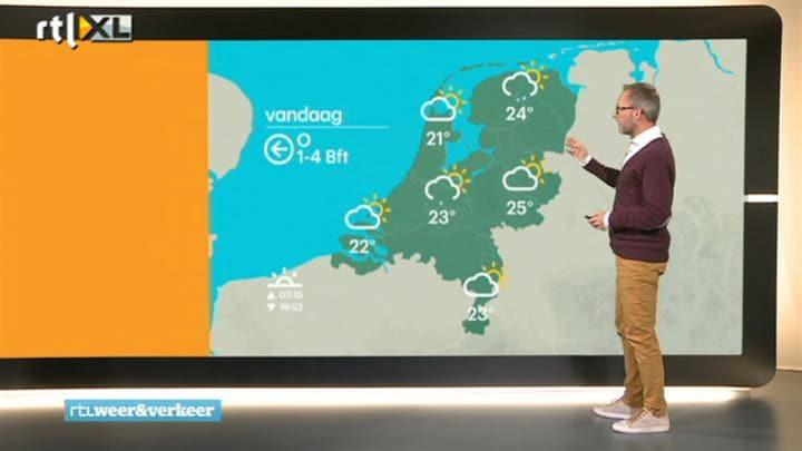 RTL Weer 16 september 2014 08:00 uur