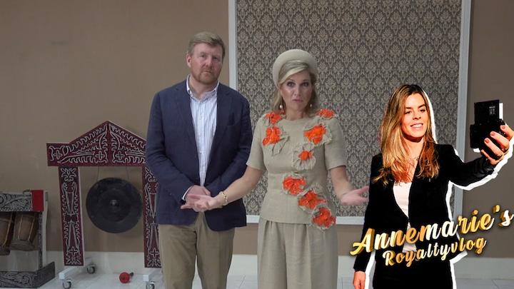 Annemarie's royaltyvlog: Annemarie spreekt het koningspaar in ...