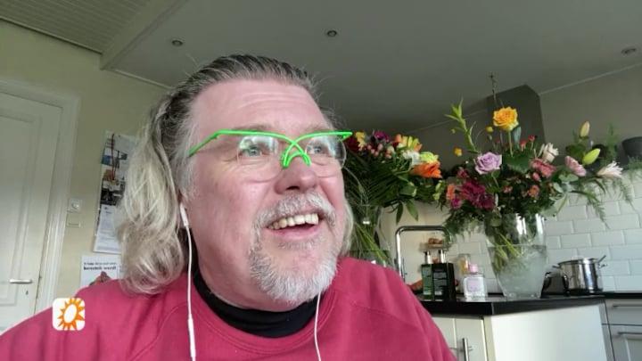 René Karst na corona besmetting weer thuis: 'Zware tijd'