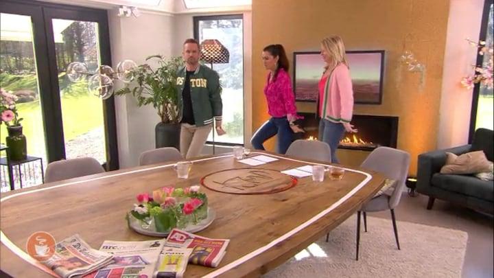 Gemist: Koffietijd: Quinty, Pernille en Patrick dansen de DameTuCosita