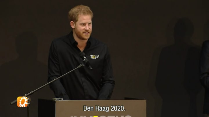 Prins Harry opent Invictus Games in Den Haag
