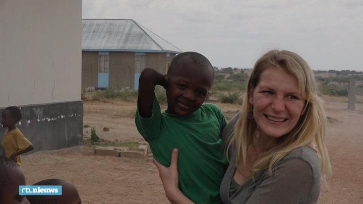 Kinderen MH17-slachtoffer bezoeken levenswerk vader in Afrika