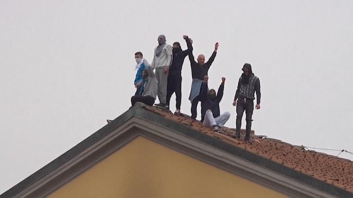 Chaos in Italiaanse gevangenissen om coronamaatregelen