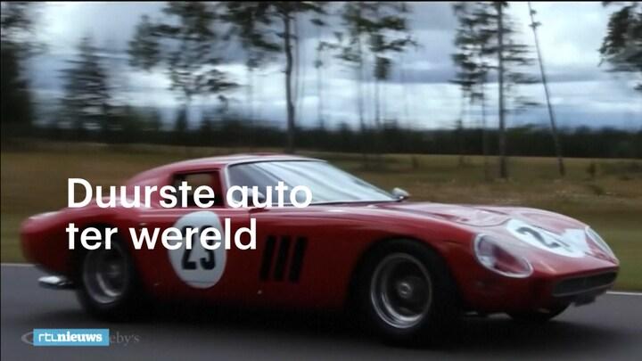 Dit Is De Duurste Auto Ter Wereld Rtl Nieuws