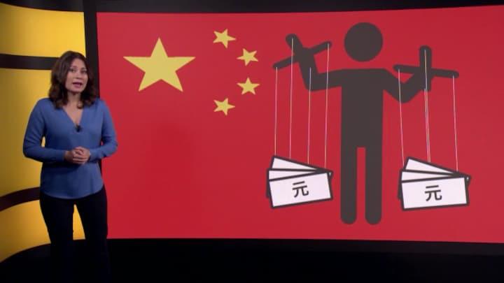Muntmanipulatie: de Chinese trukendoos gaat open