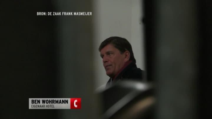Frank Masmeijer werd door twee agenten opgepakt