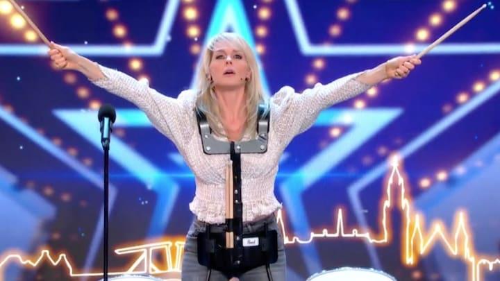 Chantal klimt HGT podium op: 'Heb dit altijd al willen doen!'