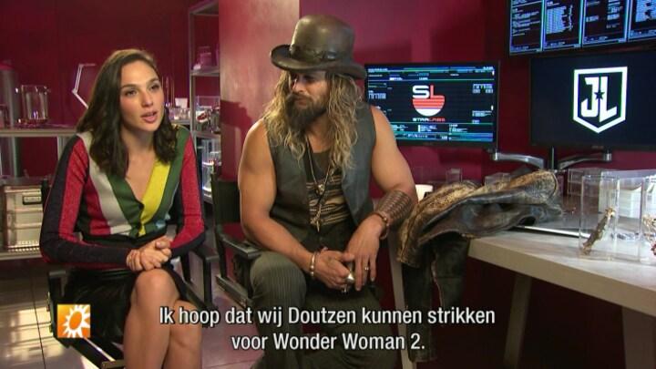 Wonder Woman-Gal Gadot dol op Doutzen Kroes