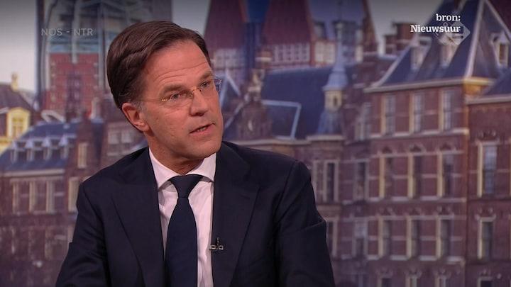 Rutte blijft volhouden: 'Ik lieg niet'