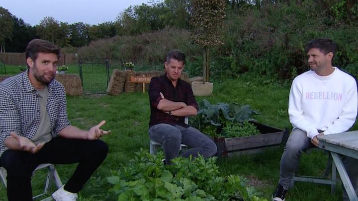 Wc-rol onder de arm: Nick, Simon en Kees starten eigen camping