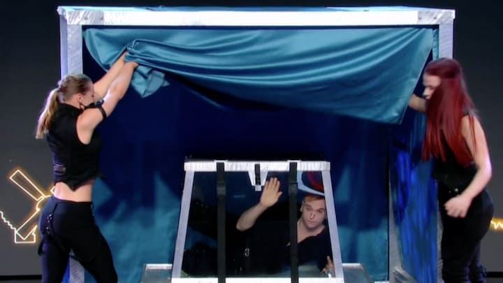 Gevaarlijke goocheltruc mislukt volledig in Holland's Got Talent
