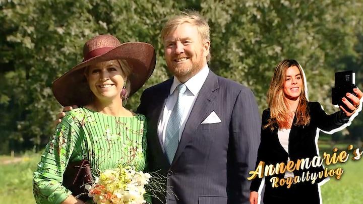 Annemarie's Royaltyvlog: nerveuze fans wachten koningspaar op
