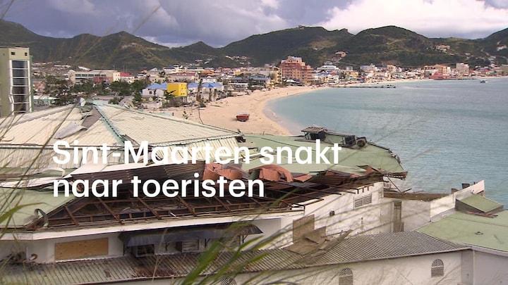 'Het voelt toch alsof je je opdringt': toeristen keren langzaam terug naar Sint-Maarten