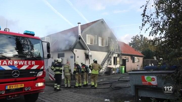 Brand in eetcafé in Soest