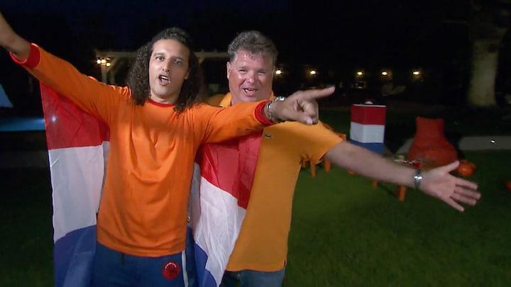 Ali B viert overwinning Oranje met Viva Hollandia-rap