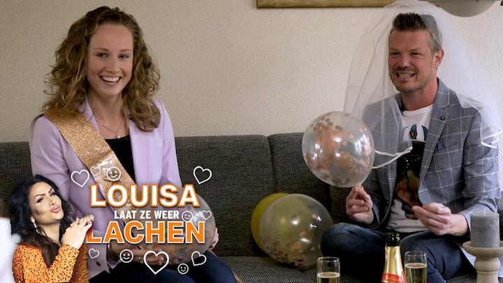 Louisa Laat Ze Weer Lachen: Lizzy en Danny houden divorce party - RTL Boulevard