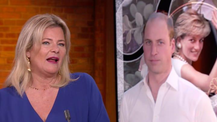 Justine Marcella: 'Interview Diana was heftig voor prins William'