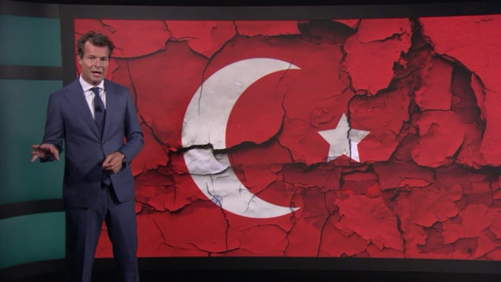ING met gebakken peren door Erdogan