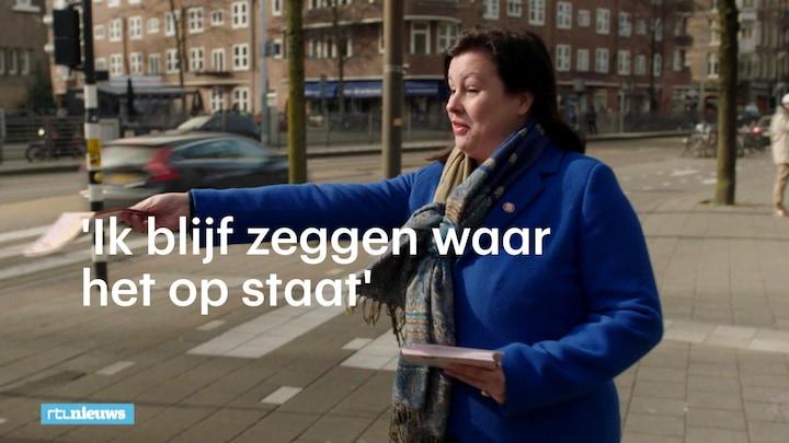 Hoe de omstreden Annabel Nanninga Amsterdam verdeelt