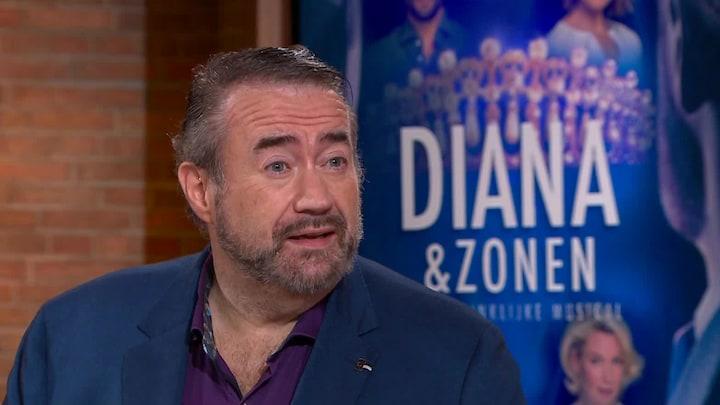 Marc onder de indruk van Diana-musical: 'Waarheidsgetrouw verhaal'