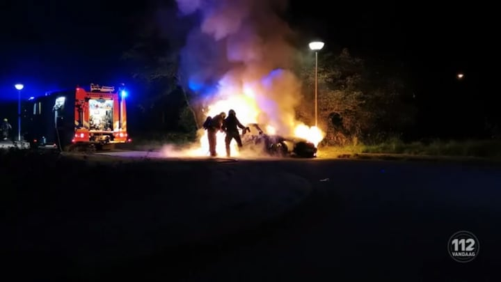 Twintig auto's in brand in Ede