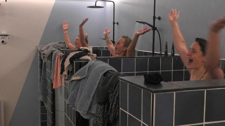 Twerken en YMCA in de douche, de Big Brother-bewoners feesten erop los
