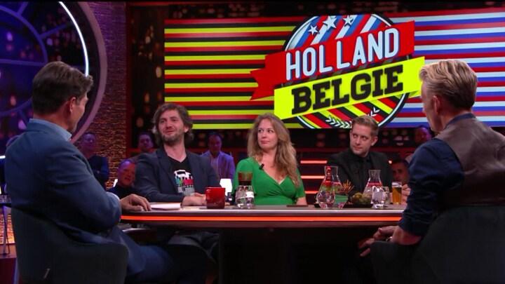 Art Rooijakkers en Lieven Scheire over Holland-België