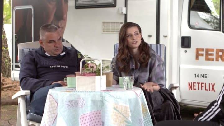 Elise Schaap is 'heel trots' op Undercover-film Ferry