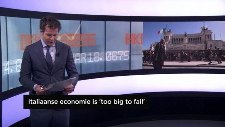 Italiaanse regering optimistisch, nu de rest van Italië nog