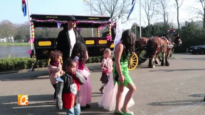 Dochter Afrojack viert haar 5e verjaardag