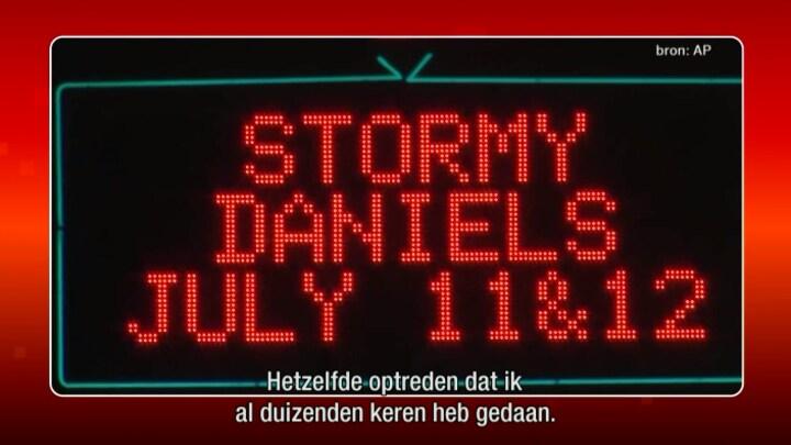 Agenten vroegen om handtekening en arresteerden daarna Stormy Daniels