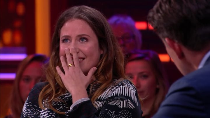 Sanne Vogel emotioneel over verlies baby