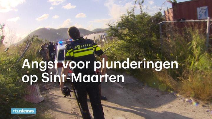 Sint-Maartenaren bang voor nieuwe plunderingen
