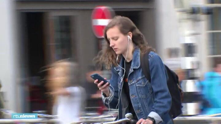 Boete appverbod: 'Ik kijk vooral uit voor de politie'