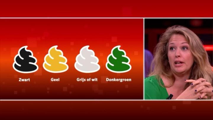 Nienke Gottenbos legt de babypoep-kaart uit