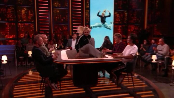 Noa pakt zilver op WK-freerunning en rolt Late Night studio binnen
