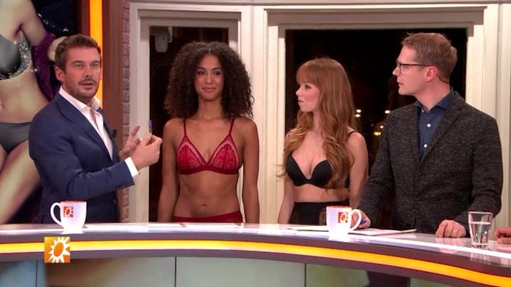 Afbeelding bij RTL Boulevard: Luuk en Ruben verrast door pikant geklede meiden (fragment)
