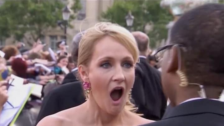 Harry Potter-cast en fans woest op J.K. Rowling