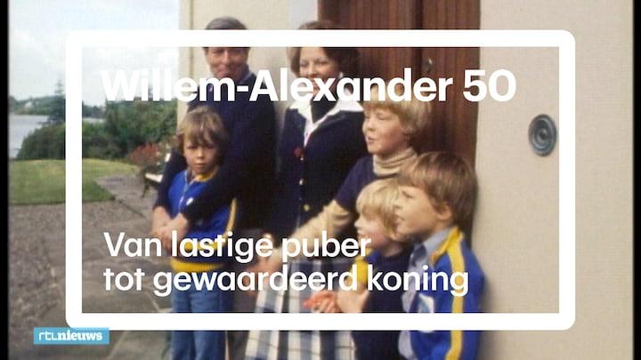 Hoe de 'lastige' Willem-Alexander veranderde in een gewaardeerd koning