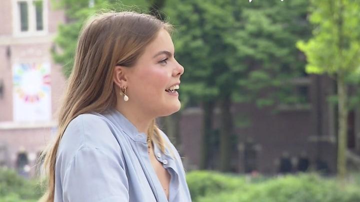 Eloise van Oranje hoopt dat oma prinses Beatrix 'heel trots' is