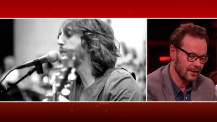 Gijs Staverman Top 2000-lijstduwer voor het nummer Lost van Jo...
